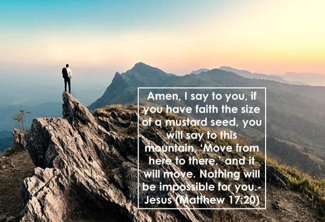 Matthew 17 faith