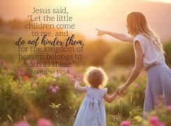 Matthew 19 do not hinder