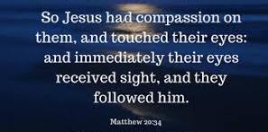 Matthew 20 compassion