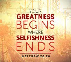 Matthew 20 greatness
