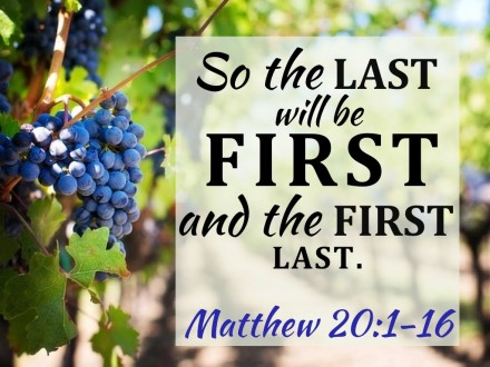 Matthew 20 last