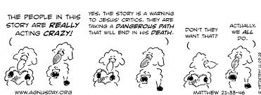 Matthew 21 crazy