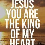 Matthew 21 King of my heart