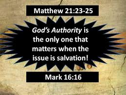 Matthew 21 only Jesus