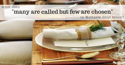 Matthew 22 called