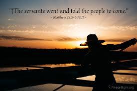 Matthew 22 come