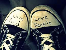 Matthew 22 love God tennis shoes